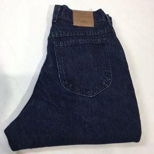 Lee Vintage Jeans 10 High Rise Dark Wash PRISTINE